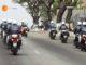 des motars dans les rue du plateau Abidjan